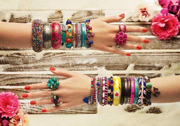 moda hippie accesoios