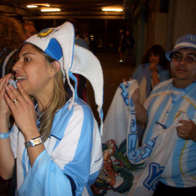 corresponsal de Argentina en el mundial 2006