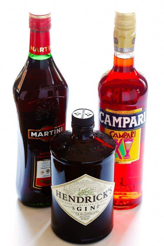Bebidas Negroni