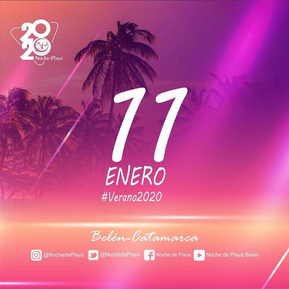 Noche de Playa 2020 flyer