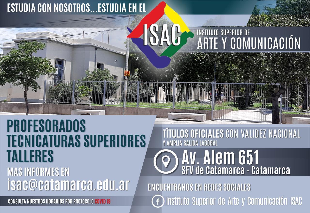 Inscripciones 2021 ISAC