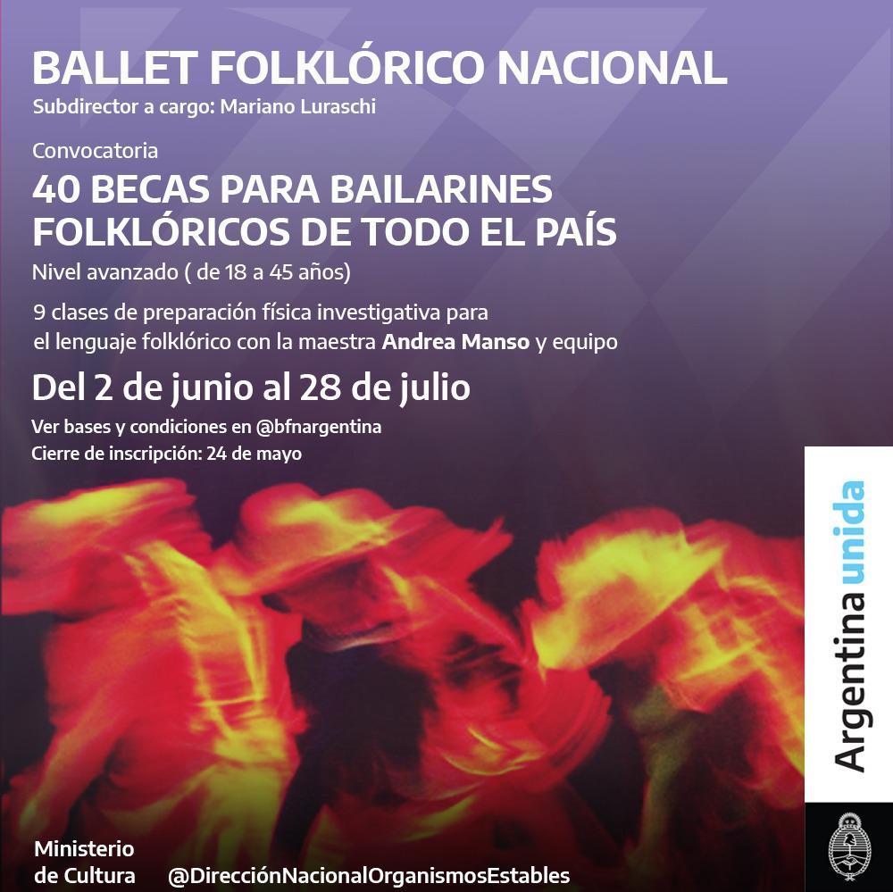 Convocatoria Bailarines BFN