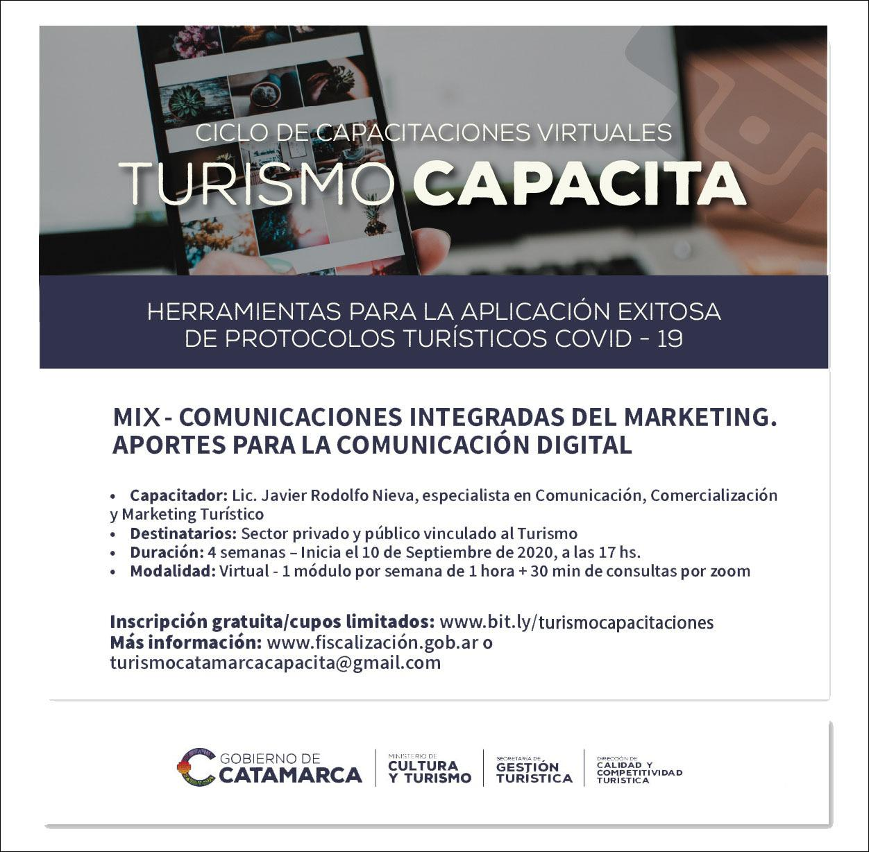 Turismo Capacita MKT digital