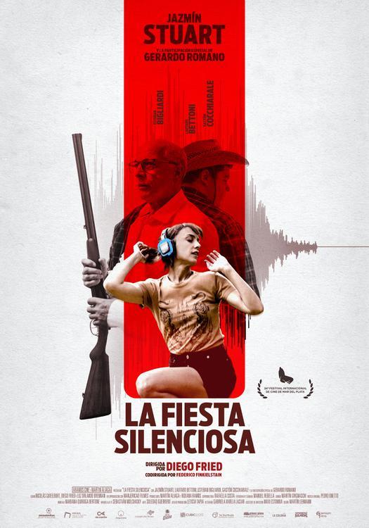 Afiche -La Fiesta Silenciosa